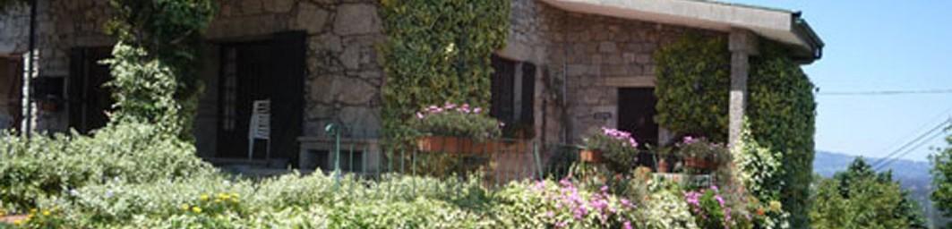 Casa do Alto - Cabecera - Entrada principal de la casa