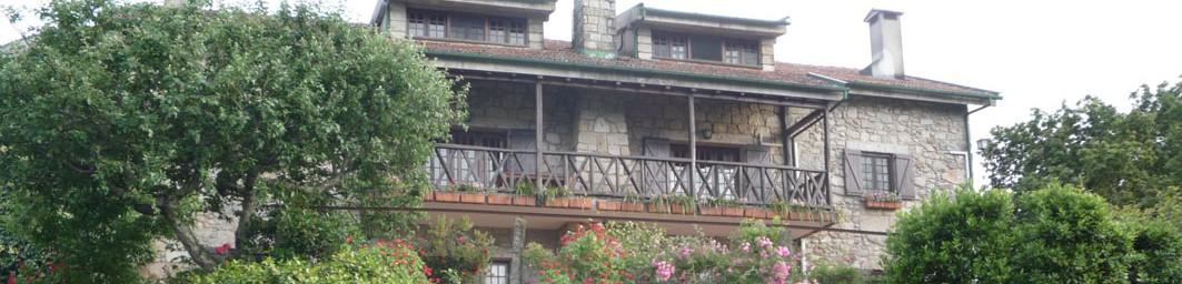Casa do Alto - Cabecera - Fachada de la frente de la casa