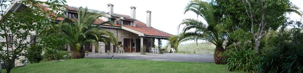Casa do Alto - Cabecera - Fachada posterior de la casa