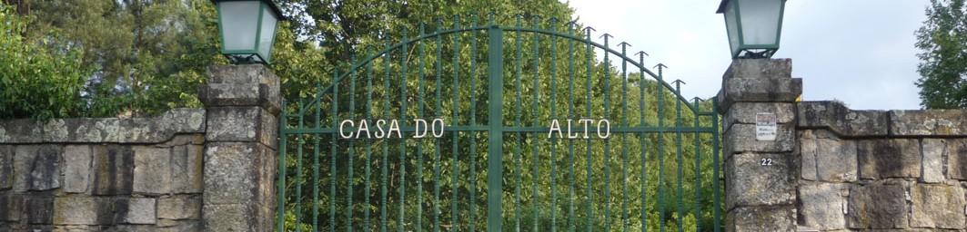 Casa do Alto - Testata - Cancello principale